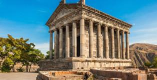 The Hellenic temple of Garni in Armenia