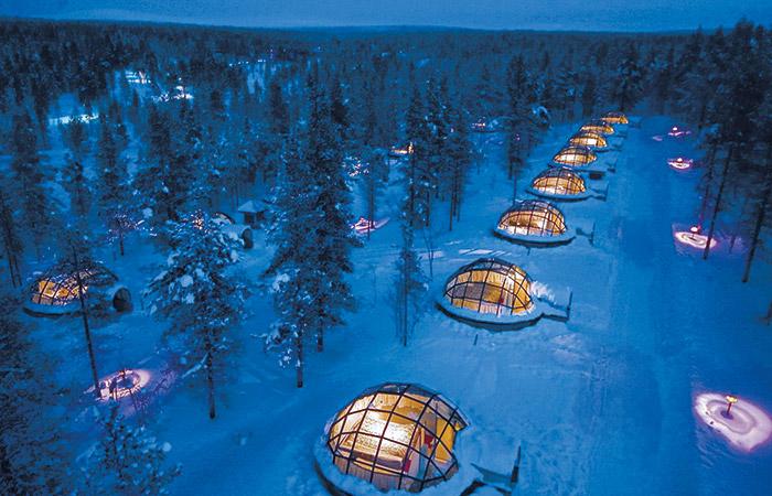 Bizarní hotely – Jak si užít tu pravou zimnídovolenou?