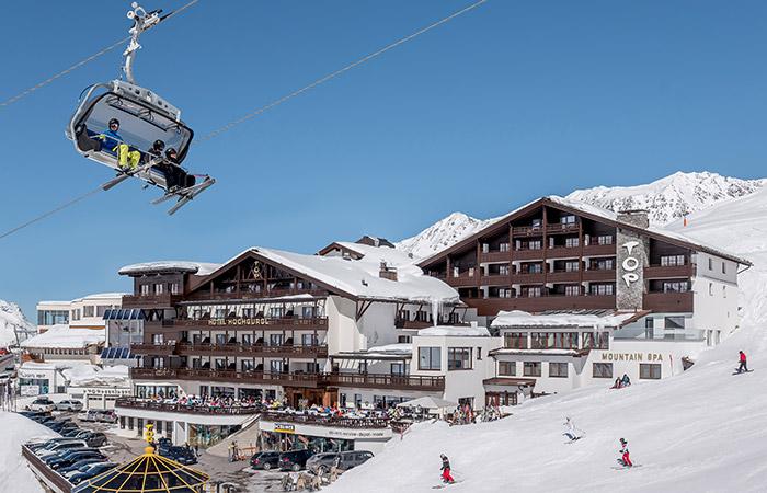 Ski in– ski out