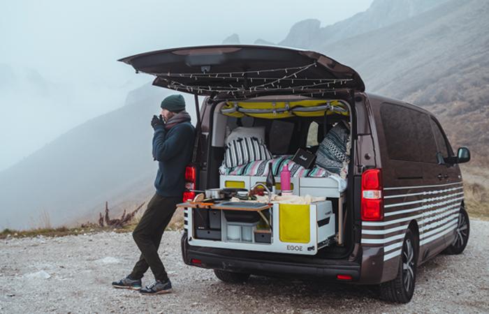 Model Proace Nomad česká Toyota svěřila do rukou firmy Egoé.